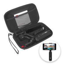 유니버설 캐리 가방 핸드 스트랩 여행 보호 케이스 커버 피부 zhiyun 부드러운 q2 휴대 전화 및 액세서리