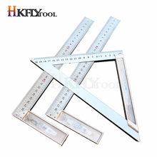 Règle tournante carrée en alliage d'aluminium de 300MM, à angle droit de 90 degrés, pour le travail du bois, outils de mesure