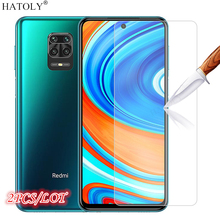 2Pcs Glass on Redmi Note 9S Tempered Glass For Xiaomi Redmi Note 9 S Screen Protector Phone Film Protective Glass Redmi Note 9S
