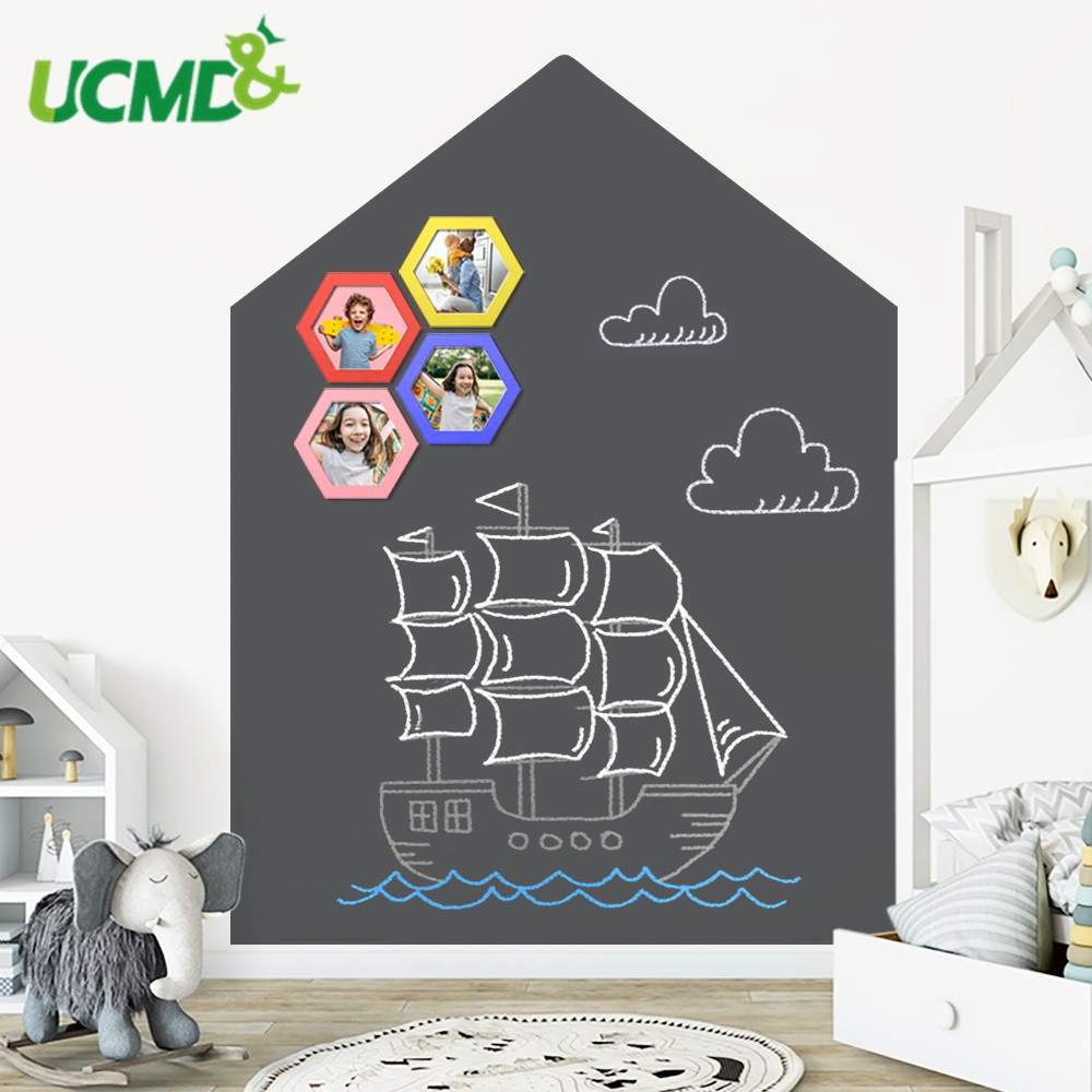 Creative Whiteboard Writing Learning Painting Graffiti Blackboard Removable Vinyl Decor Wall Sticker Home Office School Supplies