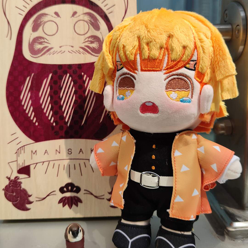 Кукла-Рассекатель демонов Kimetsu no Yaiba Kamado Tanjirou Zenitsu Tomioka Giyuu Kochou Shinobu, фигурка косплея, плюшевая игрушка 20 см