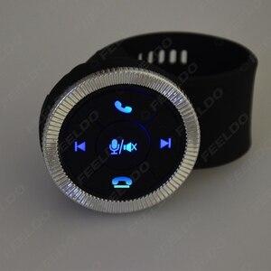 Image 2 - MOTOBOTS 1 مجموعة جديدة 7 مفتاح سيارة لاسلكية عجلة القيادة زر التحكم مع الراتنج حزام للسيارة أندرويد DVD/لتحديد المواقع لاعب الملاحة