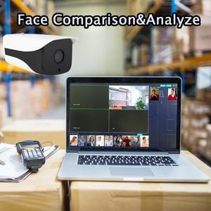 Image 3 - Facial Recognition Camera System H.2654CH 1080P POE Security Camera System Retail Security Alarm System People Counter