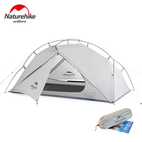 Naturehike Lightweight Outdoor 3 Season Waterproof 1 One Man Camping Tent Winter Folding Backpacking Tent Portable Hiking Tent