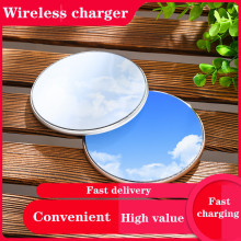 10W Fast Wireless Charger For iPhone 11 Pro XS Max XR X 8 Plus For Samsung S10 S9 S8+ Note10 9 8 USB Qi Fast  Wireless Charger accezz 3 in 1 10w 7 5w qi fast wireless phone charger for iphone 8 plus x xs max xr for airpods for samsung lighting charging