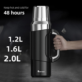 316 Stainless Steel Outdoor Thermos Large Capacity Portable Double Wall Vacuum Flask Insulated Tumbler 48 Hour