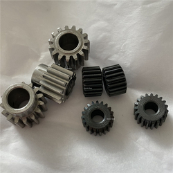 2 uds. De engranaje para Motor de arranque de 0,5 M y 0,6 M, ajuste ajustado de 11, 12, 13, 15, 17, 19 dientes, 2,3, 3.175, 4, 5, 6 y 8 mm de diámetro de orificio de 1M = engranaje convexo