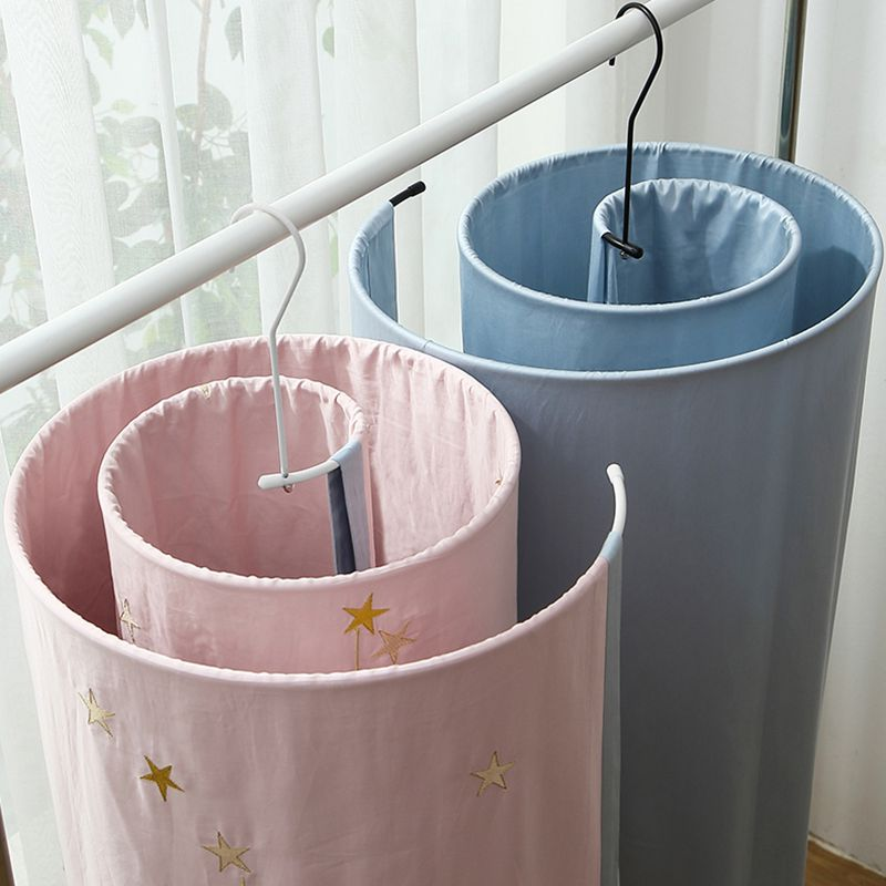 Round Spiral Quilt Sheets Hanger Stainless Steel Rotating Drying Rack Save Space Blanket Hanger Outdoor Home Balcony Hanger