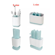 Bathroom Toothbrush Holder Removable Washing Vertical Electric Toothpaste Storage Rack Accessories Set