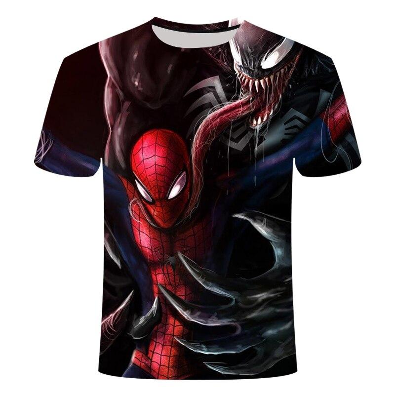 "Новинка, Мужская Футболка Venom, футболка ""Марвел"", 3D принт, футболка s, мужская, женская, Повседневная футболка, футболка для фитнеса, футболки, топы - Цвет: TX-158"