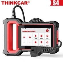 THINKCAR Thinkscan Plus S4 narzędzia diagnostyczne OBD2 poduszka powietrzna ABS ECM TCM BCM olej systemowy DPF SAS Reset TPMS OBD 2 skaner samochodowy