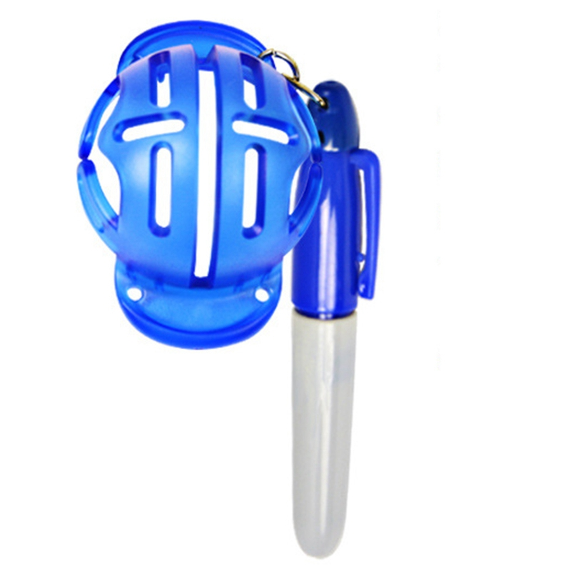 Sports Golf Ball Line Drawing Mark Alignment Tool With Pen Golf Ball Player