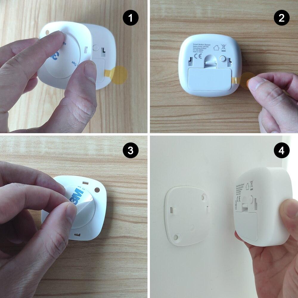 Купить с кэшбэком HEIMAN Zigbee Motion Sensor Smart Movement PIR Human Body Detector with smart home / house alarm