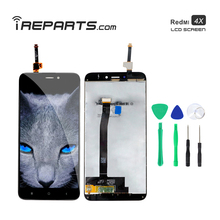 IREPARTS Replacement Display LCD for Xiaomi Redmi 4x Touch Screen Digitizer + Free Tools Gift ireparts replacement display lcd for xiaomi redmi s2 y2 touch screen digitizer assembly free repair tools