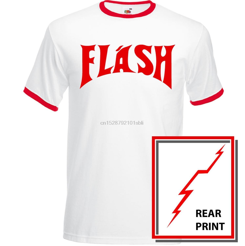 Flash Mens Fancy Dress T-Shirt Costume As Worn By Queen Freddie Mercury Gordon 2019 Fashion Brand Men Tops Street wear T-Shirt(China)