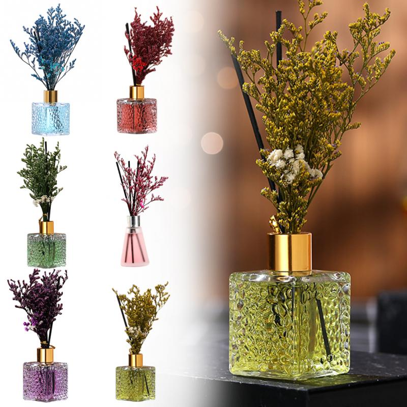 Essential Oil Perfume Aroma Diffuser Reed Cane Aroma Natural Stick Aromatherapy Machine Family Bedroom Car Office Decoration