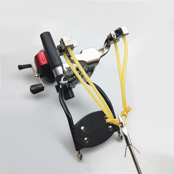 High power speed hunting fishing slingshot shooting arrow bow powerful catapult fishing compound bow fishing 3
