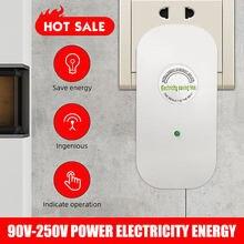 Daya listrik rumah cerdas kotak adaptador steker alat penghemat energi-intl 90-250 v