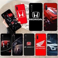 NBDRUICAI Car brand Honda Phone Case for Xiaomi Mi9 9SE 8SE