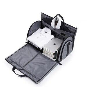 Image 4 - Victoriatourist Travel bag Garment bag men women Luggage bag versatile suit package for business trip work leisure