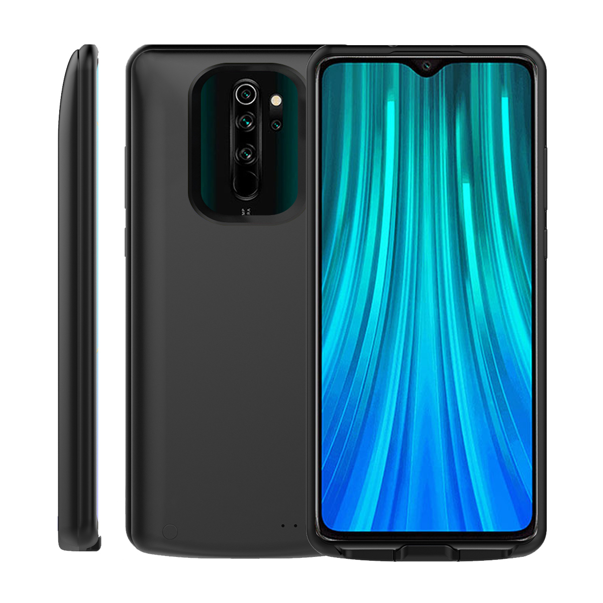 For Xiaomi Redmi Note 8 Pro Battery Charger Case 6500mAh Extended Backup Charging Power Bank Cover Redmi Note 8 Pro Case Battery