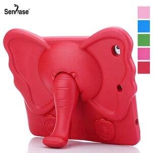 3D мультяшный слон, Детская безопасная подставка, EVA пена, противоударный чехол для Apple iPad 9,7 2018 2017 Air 2 5 6 Pro 9,7, чехол для планшета