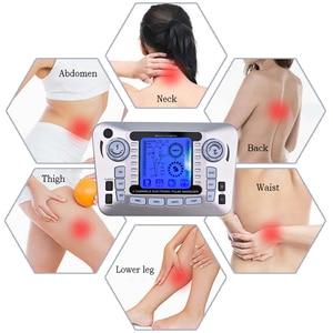Image 2 - 液晶画面デュアルチャンネル出力 tens ems 疼痛緩和電気神経筋肉刺激装置デジタル療法マッサージ理学療法