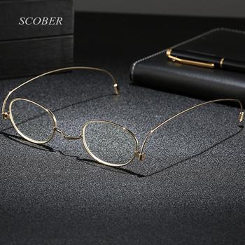 Nowe japońskie progresywne wieloogniskowe anty-niebieskie okulary do czytania mężczyźni obrotowe okulary do czytania kobiety daleko w pobliżu okulary do czytania tanie i dobre opinie SCOBER WOMEN Unisex WHITE Anti-odblaskowe RG0220 3 1cm Z poliwęglanu 4 3cm ALLOY
