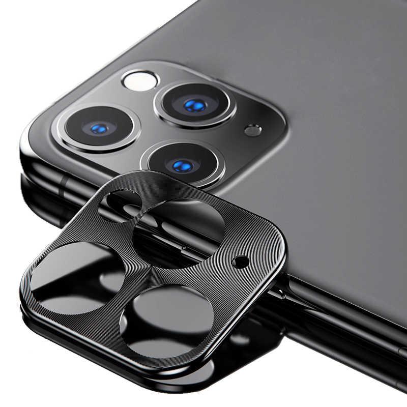 Untuk iPhone X XS 11Pro 11 Pro Max Kamera Pelindung Layar Kaca Logam Lens Cincin Paduan Kamera Pelindung Layar untuk iPhone X Max