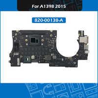 Placa base A1398 para portátil, 820-00138-A i7, 2,2 GHz, 2,8 GHz, 16GB, 1998-2018, para Macbook Pro Retina, 15