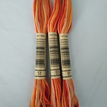 20 pcs of color 51  Thread Embroidery Floss
