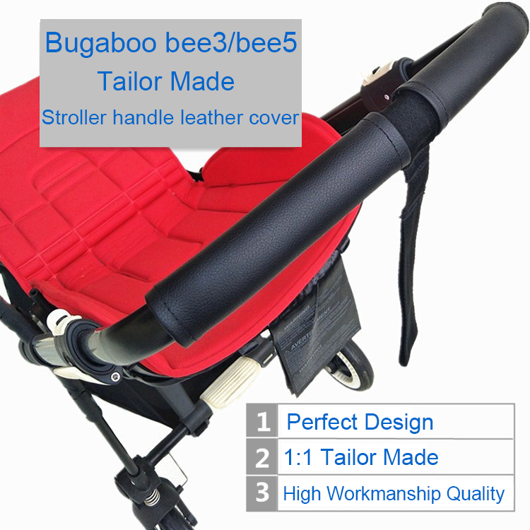 1:1 Stroller Accessories Handle Leather Protective Case Cover For Bugaboo Bee Bee3 Bee5