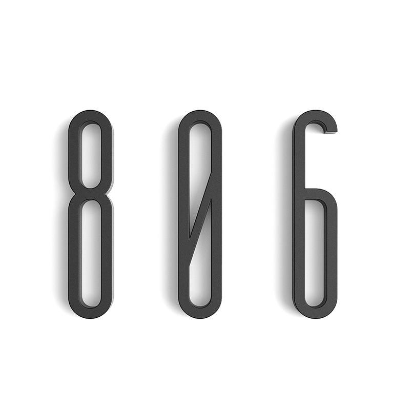100mm samoprzylepne duże nowoczesne numer drzwi tablica płyta drzwi numer domu numer drzwi hotelowe list adres cyfry naklejki znak
