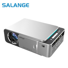 Salange – projecteur Led Portable Full HD 3500 p, 1080p, 4K, 1080 Lumens, HDMI, USB, Bluetooth, WIFI, pour Home cinéma