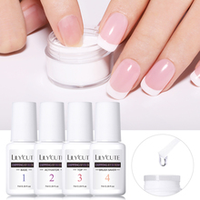 LILYCUTE 7ml Dipping Nail Powder System Liquid Clear Base Activator Top Nail Art Dip System Liquid No Need UV Lamp Manicure цена