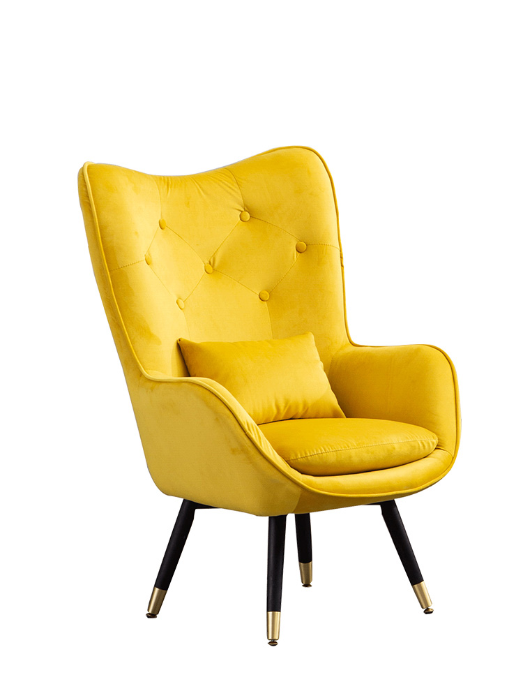 Lazy Nordic sofa simple small sofa balcony leisure chair bedroom lazy chair modern simple sofa chair