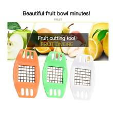 Potato Chopper Chip Cutter In Strips French Fries Tools Multi-function DIY Slicing Potato Machine Practical Kitchen Gadgets Hot(China)