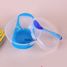 Comida para bebê conjunto de comida para bebê tigela de comida para bebê com temperatura sensing colher garfo crianças utensílios de mesa jantar produtos para bebê