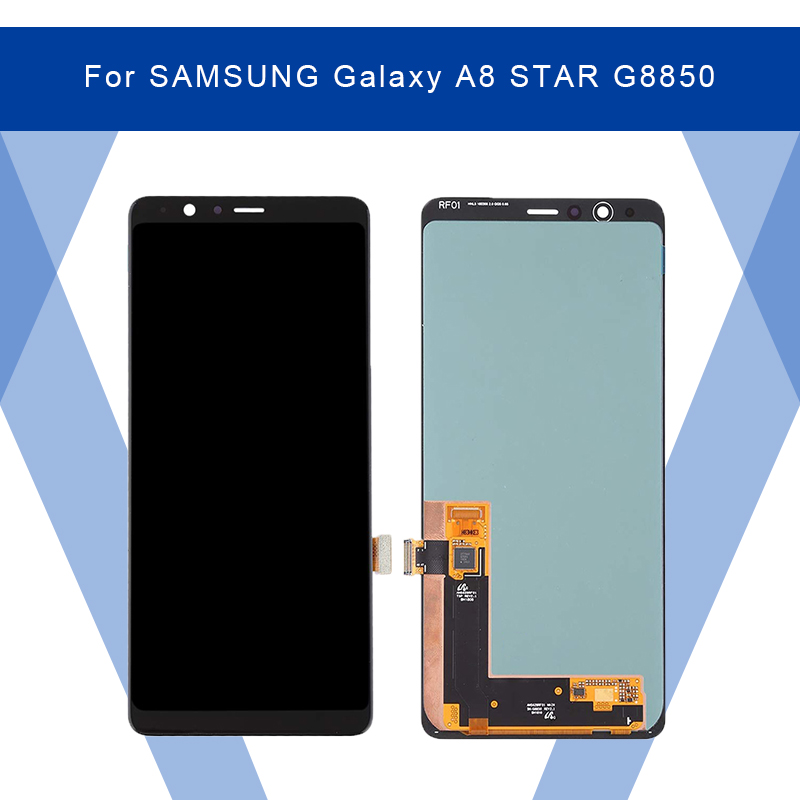 For SAMSUNG Galaxy A8 STAR G8850 LCD AMOLED Display Screen+Touch Panel Digitizer Assembly For SAMSUNG Display Original