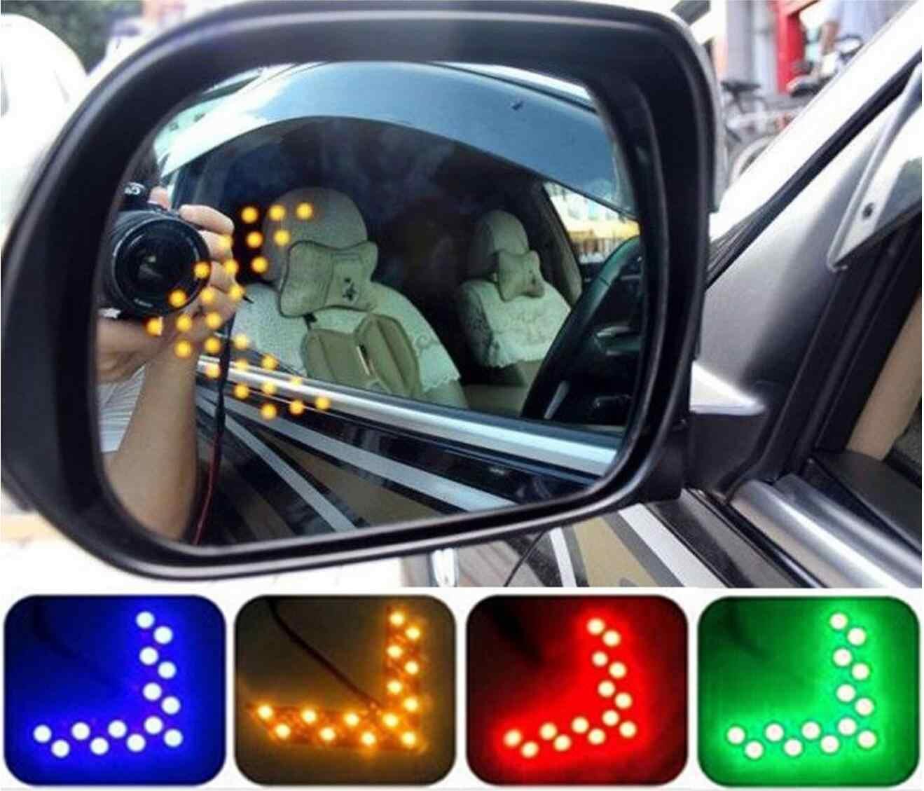 Carro espelho retrovisor indicador de luz por sua vez sinal acessórios do carro etiqueta para honda mugen energia para civic accord crv hrv jazz