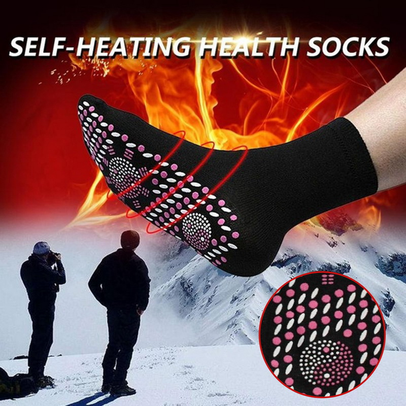 2020 New Tourmaline Self Heating Magnetic Socks Comfortable And Breathable Winter Ski Fitness Thermal Sport Socks