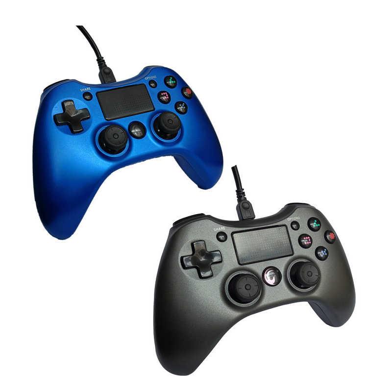 Kabel Game Konsol Controller untuk Sony PlayStation 4 PS4 untuk PS 4 DualShock Getaran Joystick PC Gamepads untuk PS3 Android TV