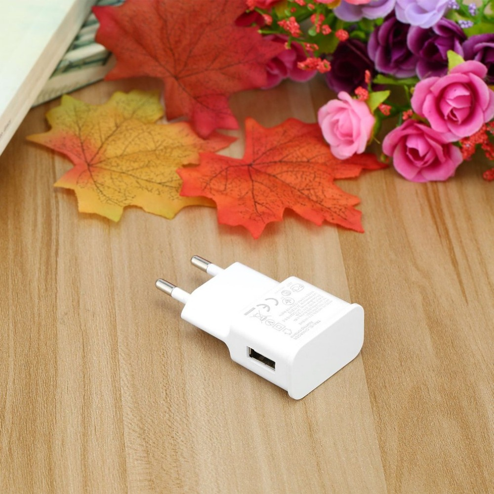 Onleny Fast Charging Universal Single USB port phone Charger 7100 Travel Charger Adapter Portable EU Plug For Samsung cellphones