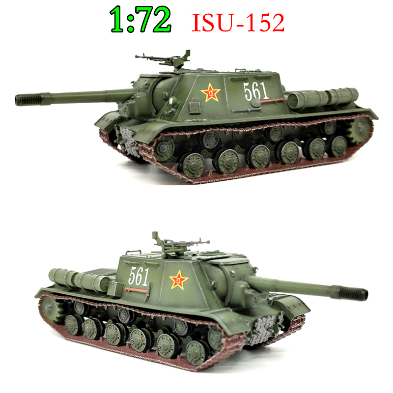 1/72  Soviet Isu-152 Heavy Fighter Vehicle  Chinese Army Tank Model 561  Finished Product
