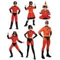 Новый костюм, костюм на Хэллоуин, комбинезон для всей семьи, детский маскарадный костюм супергероя