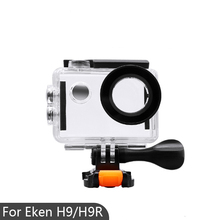 30m Underwater Waterproof Case Eken H9 H9R Case Housing Cover