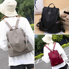 Women Anti-theft Backpack Personality Wild Oxford Cloth Small Bag
