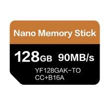 NMการ์ดอ่าน90เมกะไบต์/วินาที128 GB Nanoการ์ดหน่วยความจำใช้สำหรับHuawei Mate 20 Pro Mate 20 X P30 nova5 Pro