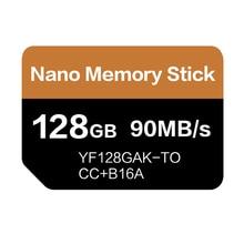 بطاقة NM قراءة 90 برميل/الثانية 128 GB نانو بطاقة الذاكرة تنطبق على هواوي ماتي 20 برو ماتي 20 X P30 Nova5 برو