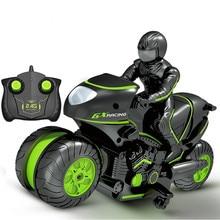 Дети мотоцикл электрический пульт дистанционного управления RC автомобиль мини мотоцикл 2,4 ГГц гоночный мотоцикл мальчик игрушки для детей